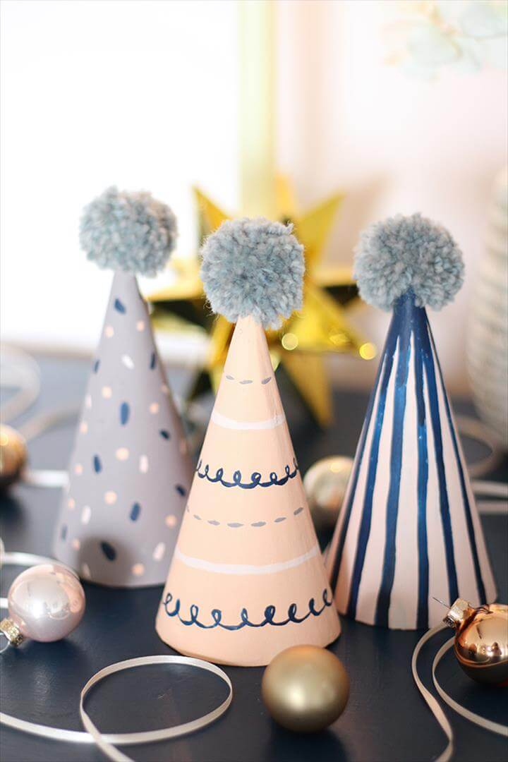 party hat craft, new year
