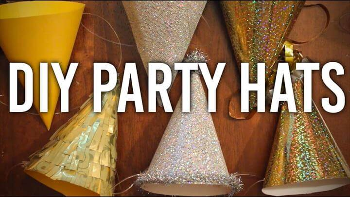 Party Hats : DIY : Perfect for NYE! Happy New Years!