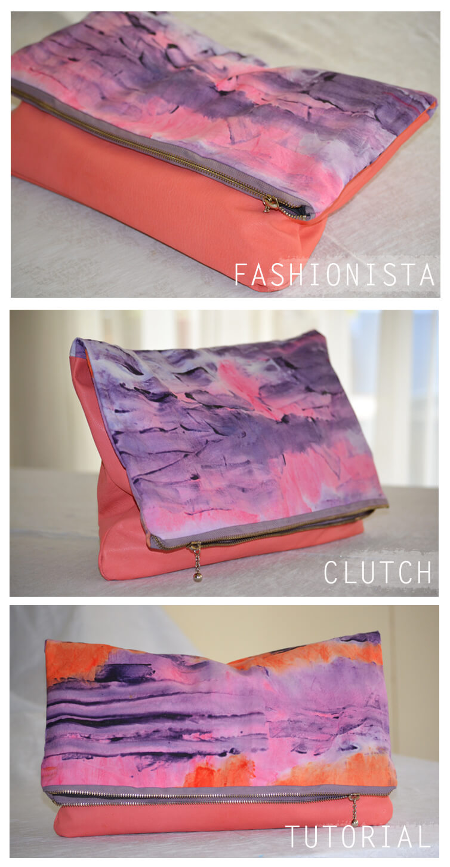 Fashionista Clutch Tutorial