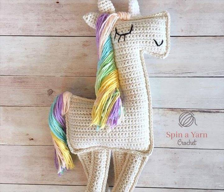 Magically Inspiring Unicorn Crafts, DIYs, Foods and Gift Ideas: Ragdoll Unicorn