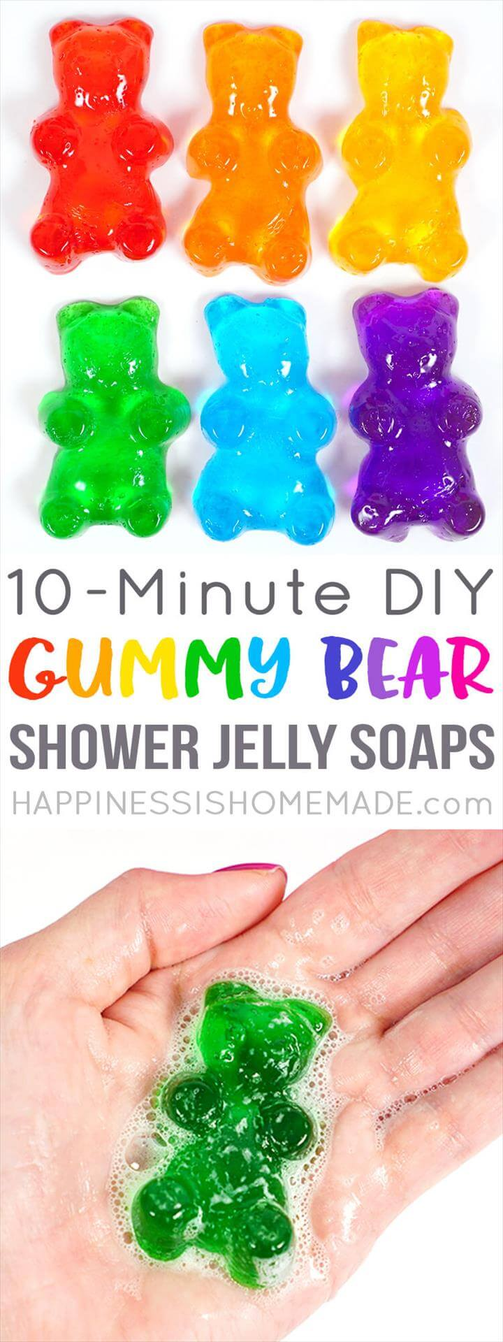 Bath Jellies, Shower Jellies Diy, Jelly Soap, Soap Tutorial, Easter Gift, Easter Crafts, Kids Crafts, Soap Recipes, Home Made Soap,