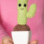 Crochet Cactus, Crochet Flowers, Miniature Plants, Cactus Plants, Yellow Flowers, Minis, Dollhouse Miniatures, Mini Cactus, Cotton Thread,Succulent Gifts, Crochet Cactus, Cactus Cactus, Mini Plants, Artificial Plants, Succulents, Amigurumi, Frida Kahlo, Amigurumi Patterns, Crochet Round, Easy Crochet, Knit Or Crochet, Crochet Hooks, Single Crochet, Crotchet, Crochet Cactus Free Pattern, Round Cactus, Cactus Planta,Crochet Cactus, Cute Crochet, Crochet Toys, Crochet Art, Fleur Crochet, Crotchet, Crochet Flowers, Crochet Patterns, Indoor Succulents,