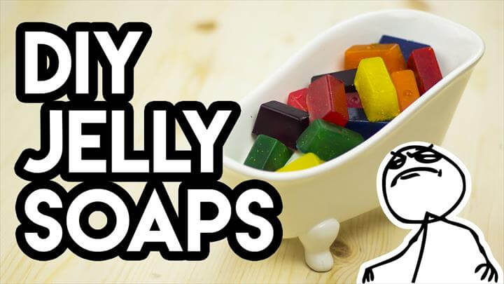 DIY Lush Vegan Jelly Soaps - Do It Like a Boss