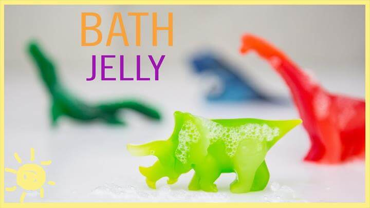 How to Make Bath Jelly (Easy Recipe!!)
