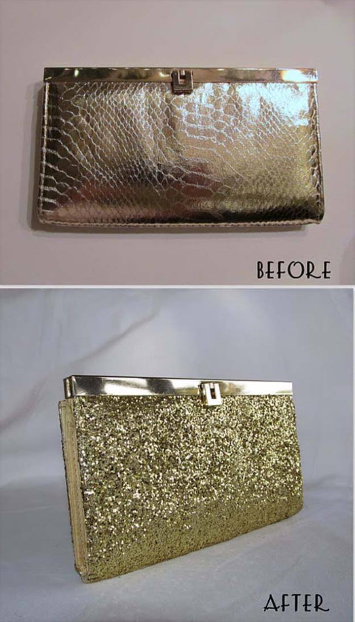 Diy Glitter Purse, Sparkles Glitter, Glitter Shoes, Sparkle Shoes, Glitter Projects, Diy Clutch, Gold Clutch, Handmade Clutch, Diy Clutch, Diy Purse, Creative Crafts, Fun Crafts, Diy Bags, Diy Tutorial, Diy Fashion, Diy Clothes, Jewelry Crafts, Gold Diy, Diy Bags, Diy Clothes, Clutch Bags, Diy Clutch, Envelope Clutch, Gold Clutch, Gold Glitter, Glitter Purse, Cool DIY Crafts Made With Glitter – Sparkly, Creative Projects and Ideas for the Bedroom, Clothes, Shoes, Gifts, Wedding and Home Decor | DIY Gold Glitter, Glitter Crafts, Painting Leather, Painted Wine Glasses, Diy Accessories, Cl Shoes, Seattle Fashion, Beauty Tutorials, Spring Fashion, ...