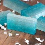 DIY Ombre Soap (DIY Mermaid Soap