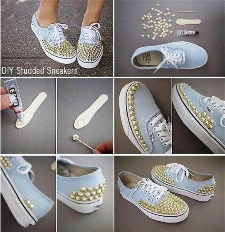 Shoe Refashion, Diy Fashion Projects, Bling Shoes, Your Shoes, Diy Clothes, Shoes Sandals, Shoe Boots, Amai, Potpourri, Painted Sneakers, Socks, Recycling, Shoes, Second Chances, Decorated Shoes, Flip Flops, Over Knee Socks, Crocheting, Fashion Trends, Diy Clothing,Loafer Slippers, Studded Loafers, How To Make Diy, Dyi Crafts, Diy Bags, Diy Projects To Try, Stay Fresh, Diy Fashion, Diy Clothes, Diy, Knives, Cloakroom Basin, Diy Clothing,Funny Shoes, Shoe Crafts, Diy Crafts, Painted Shoes, Diy Fashion, Indian Fashion, Diy Accessories, Refashion, New Shoes, Crafts, Manualidades, Hands, Zapatos, Style, Hobbies, India Fashion, Do It Yourself, Diy Home Crafts, Diy Projects, Do It Yourself Crafts,Shoe Crafts, Clothes Crafts, Diy Crafts, Shoe Makeover, Diy Roupas, Studs, Baskets, Diy Art, Diy Fashion, How To Make Crafts, Knives, Slippers, Creature Comforts, School, Decorating Shoes, Shoes Sandals, Slipper, Socks, Needlepoint, White Tennis Shoes,