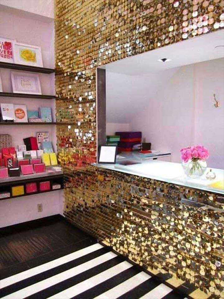 Glamorous Sparkling DIY Decoration Ideas To Beautify Your Decor homesthetics decor, home decor
