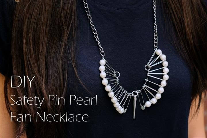 DIY Safety pin pearl fan necklace, Diy Jewelry Necklace, Jewelry Crafts, Pearl Necklace, Diy Jewelry Necklace, Jewelry Crafts, Pearl Necklace, Handmade Jewelry, Beaded Jewelry, Jewellery Diy, Jewelry Ideas, Jewelry Making, Safety Pin Crafts, Handmade Jewelry, Safety Pin Crafts, Safety Pins, Diy Necklace, Necklace Designs, Pearl Necklace, Diy Couture, Diy Fashion, Fashion Hacks, Diy Clothes, Beaded Jewelry, Jewellery Diy, Jewelry Ideas, Jewelry Making, Safety Pin Crafts,
