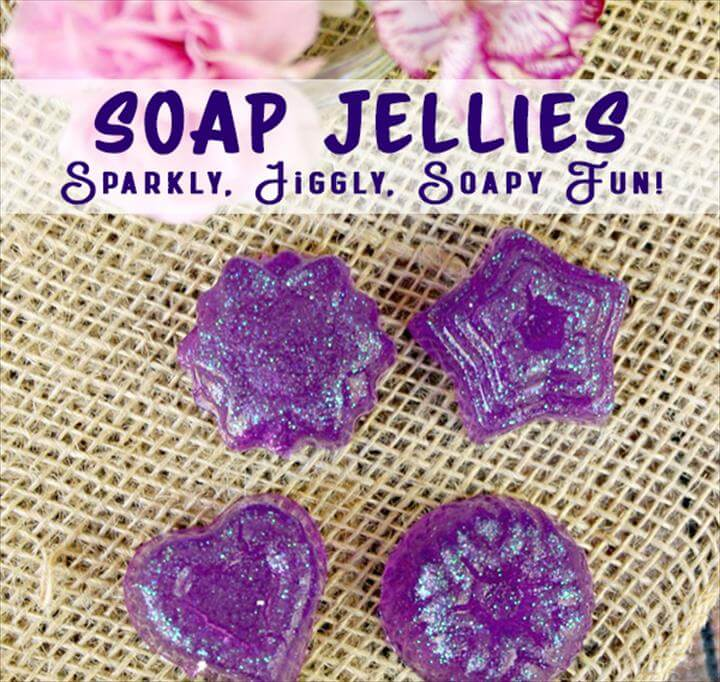 Jelly Soap Making – Sparkly, Jiggly, Fun Soap Jellies Recipe