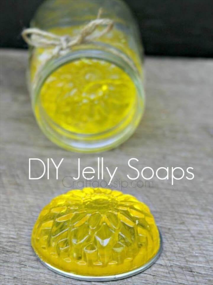 DIY Calming Vegan Organic Jelly Soaps