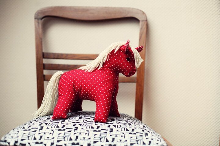 1950's toy horse