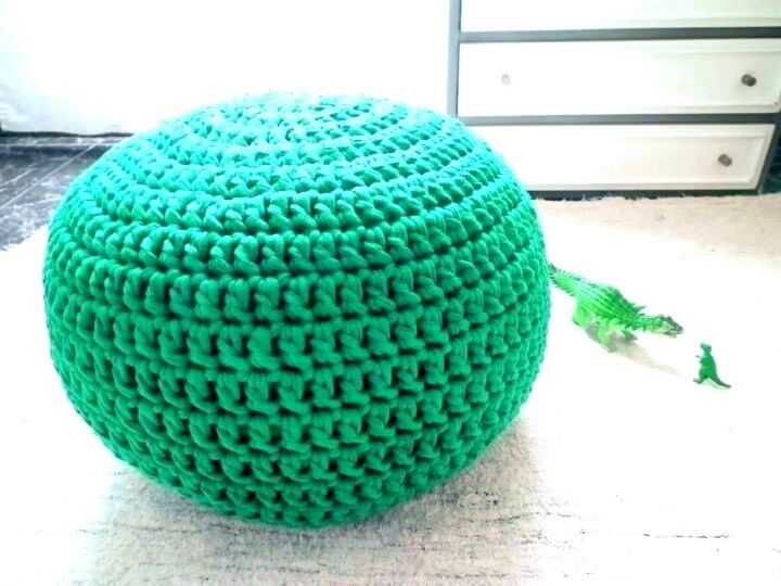 Sensational 18 Crochet Colorful Pouf Free Crochet Pattern Pdpeps Interior Chair Design Pdpepsorg