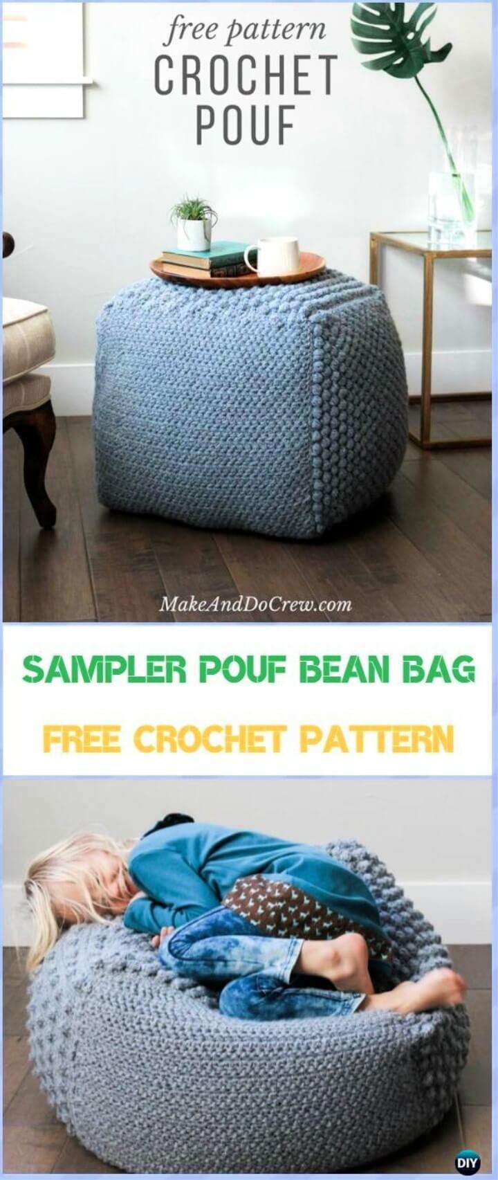 The Sampler pouf Bean Bag