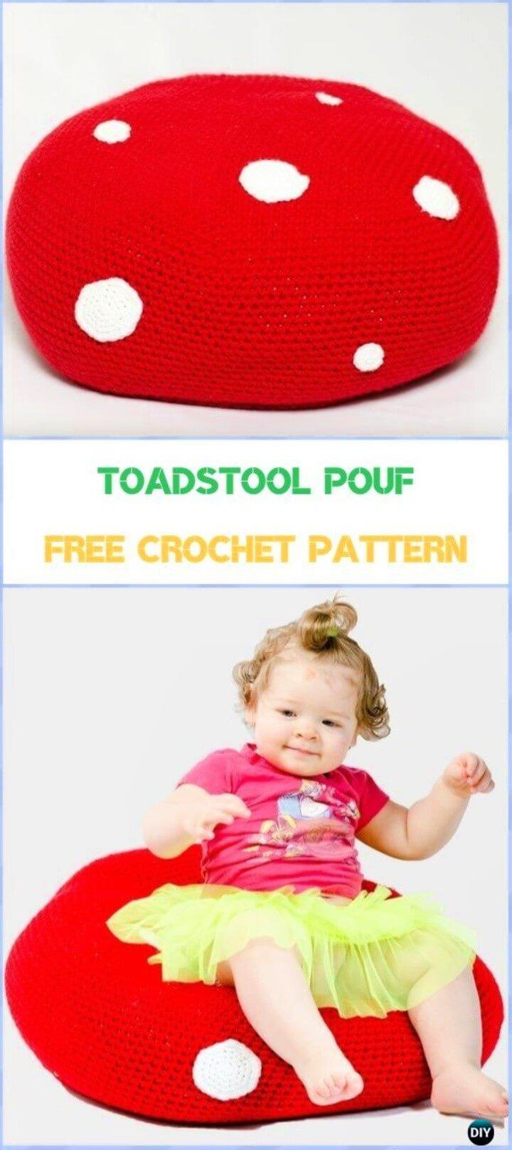 Toadstool Pouf