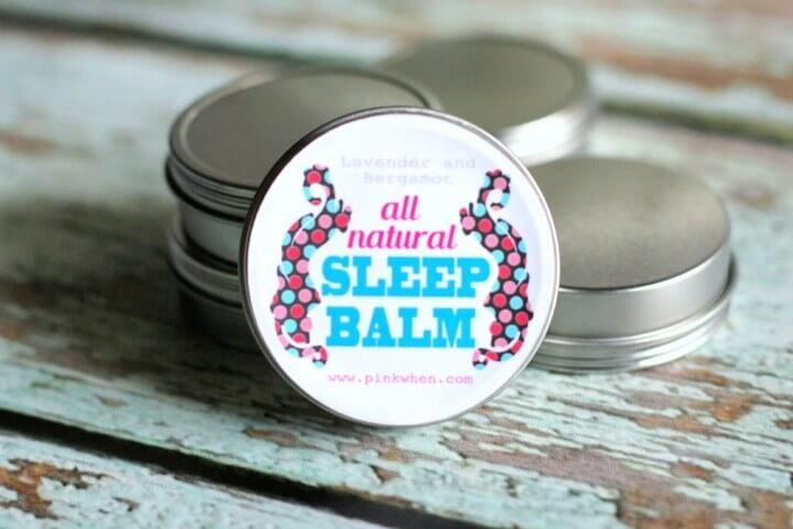 DIY Sleep Balm