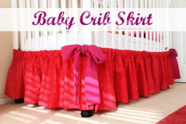 Baby Crib Skirt