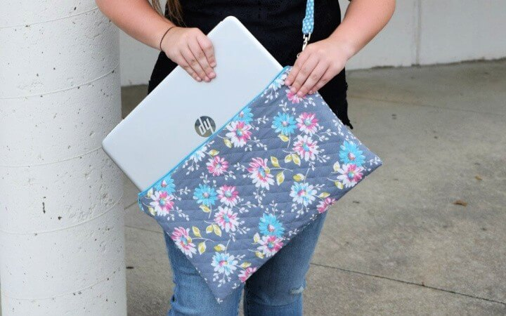 Back to School DIY Laptop Bag