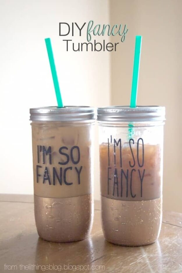 DIY Fancy Tumbler