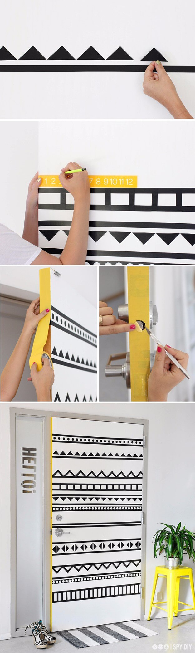 DIY Graphic Door