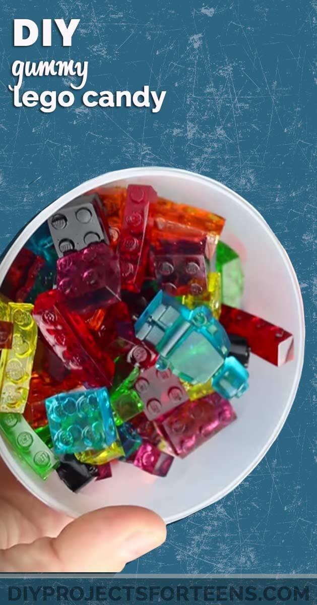 Gummy Lego Candy