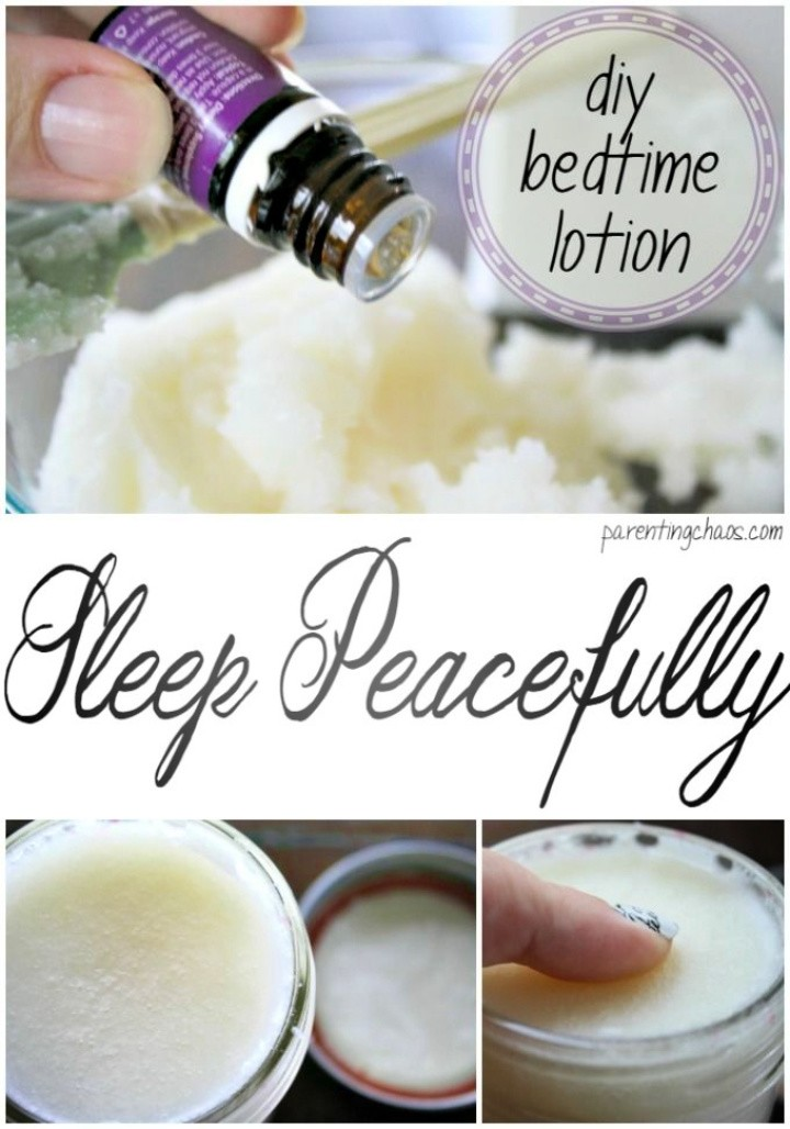 Homemade Bedtime Lotion