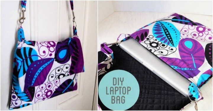 DIY Make a Custom Laptop Bag