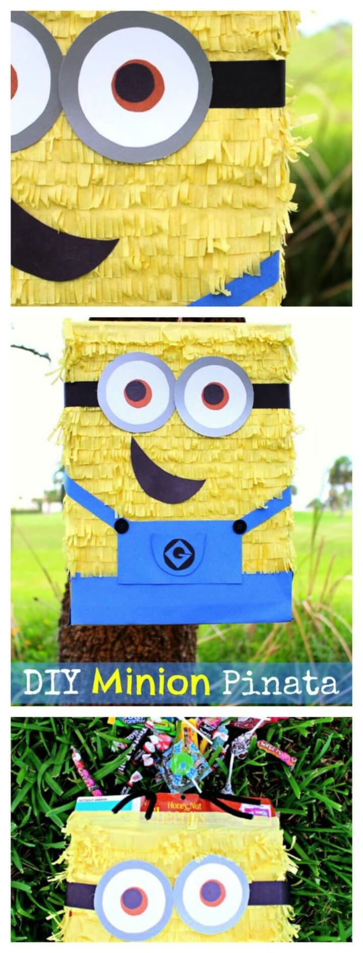 DIY Minion Pinata