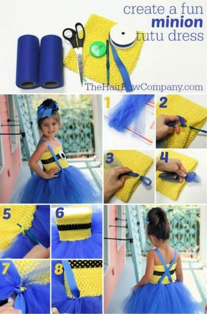DIY Minions Costume Ideas