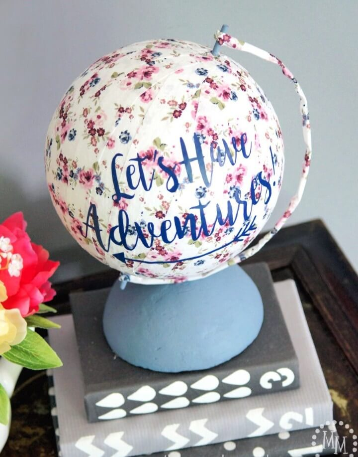 diy globe tutorial