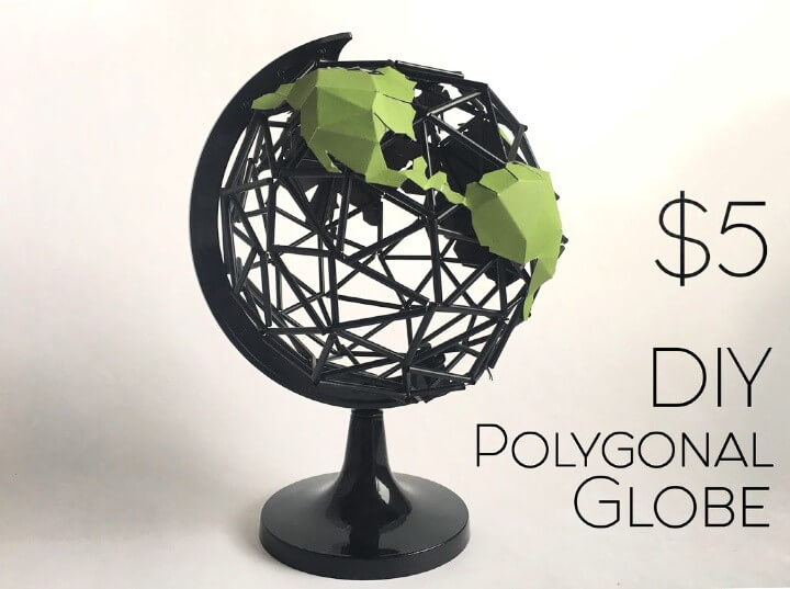 DIY Polygonal Globe