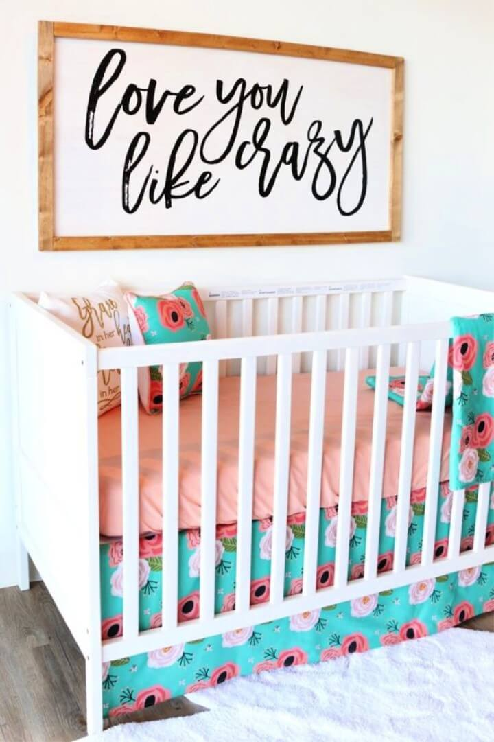 DIY Rustic Nursery Decor