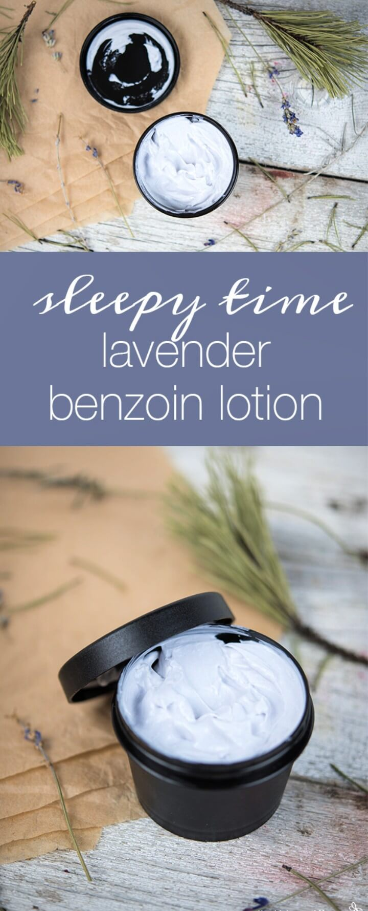 Sleepy Time Lavender Benzoin Lotion