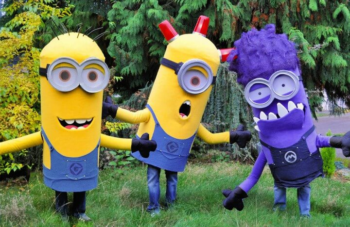 Trio of Minion Costumes