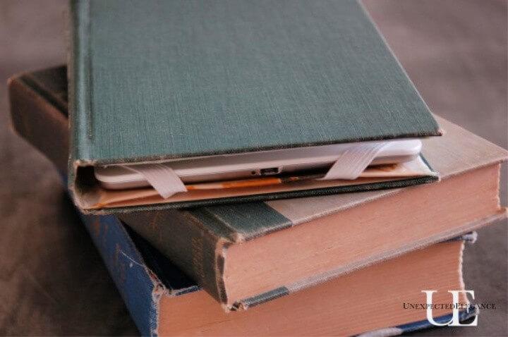 Vintage Book Tablet Case