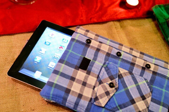 iPlaid Shirt Tablet Cover