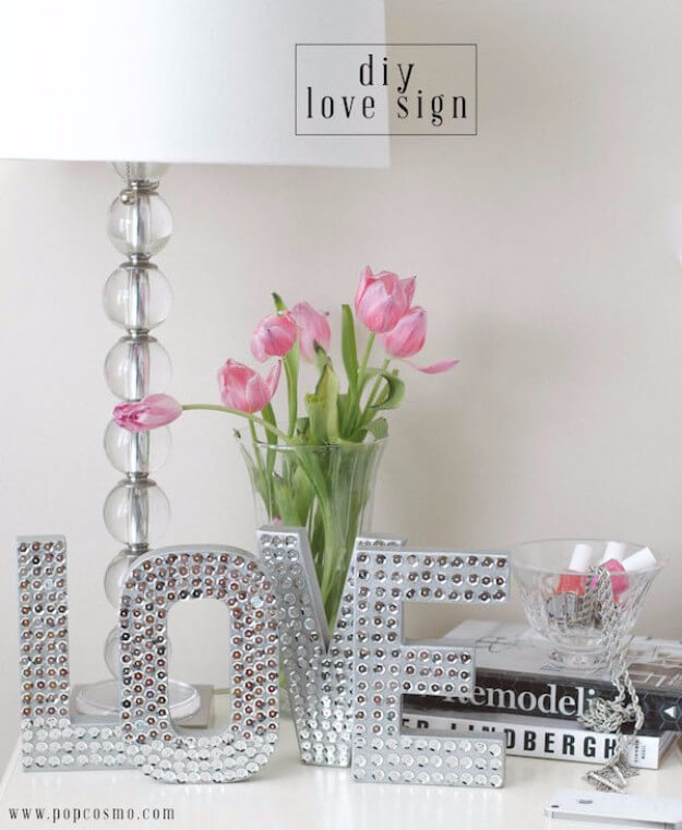 Disco Love Sign