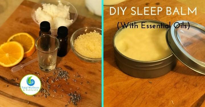 Diy Sleep Balm Recipe