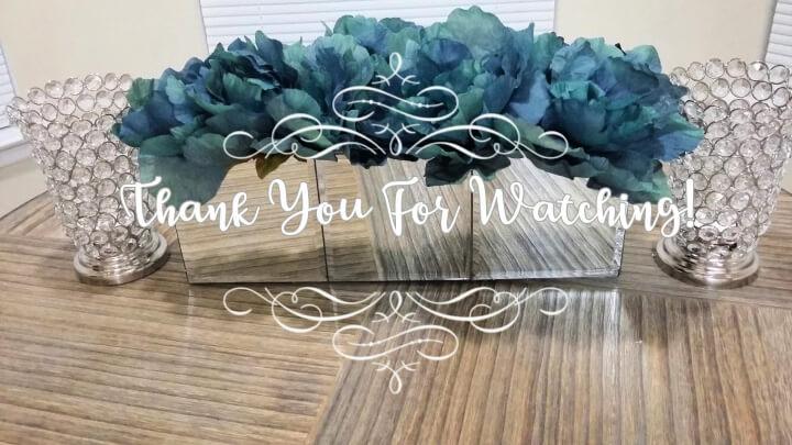 Dollar Tree DIY Mirror Flower Box Centerpiece