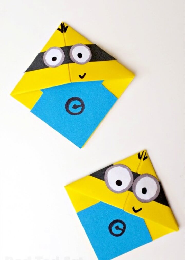 Easy & fun to make Minion Bookmarks