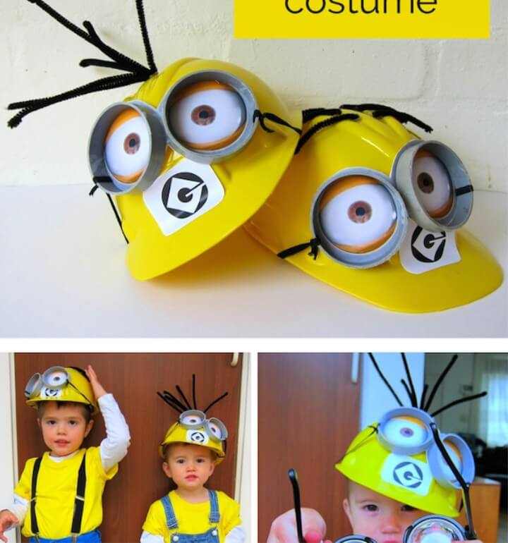 Fancy Dress Costume Ideas - DIY Minion Costume