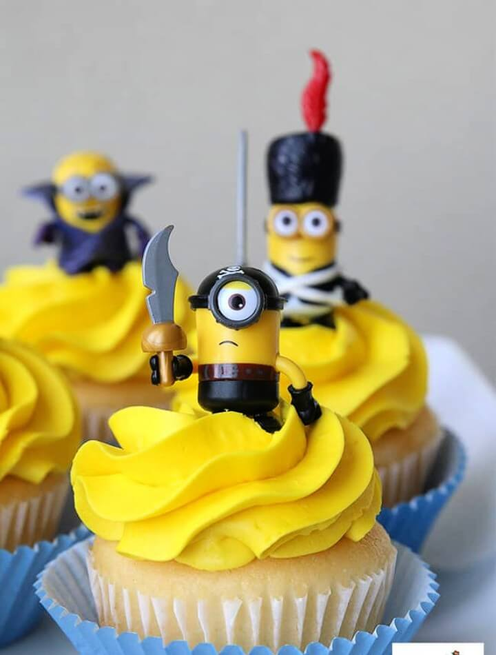 Cute Minions Cupcakes! Fun DIY ideas for a Minions Party or Despicable Me Minion Themed