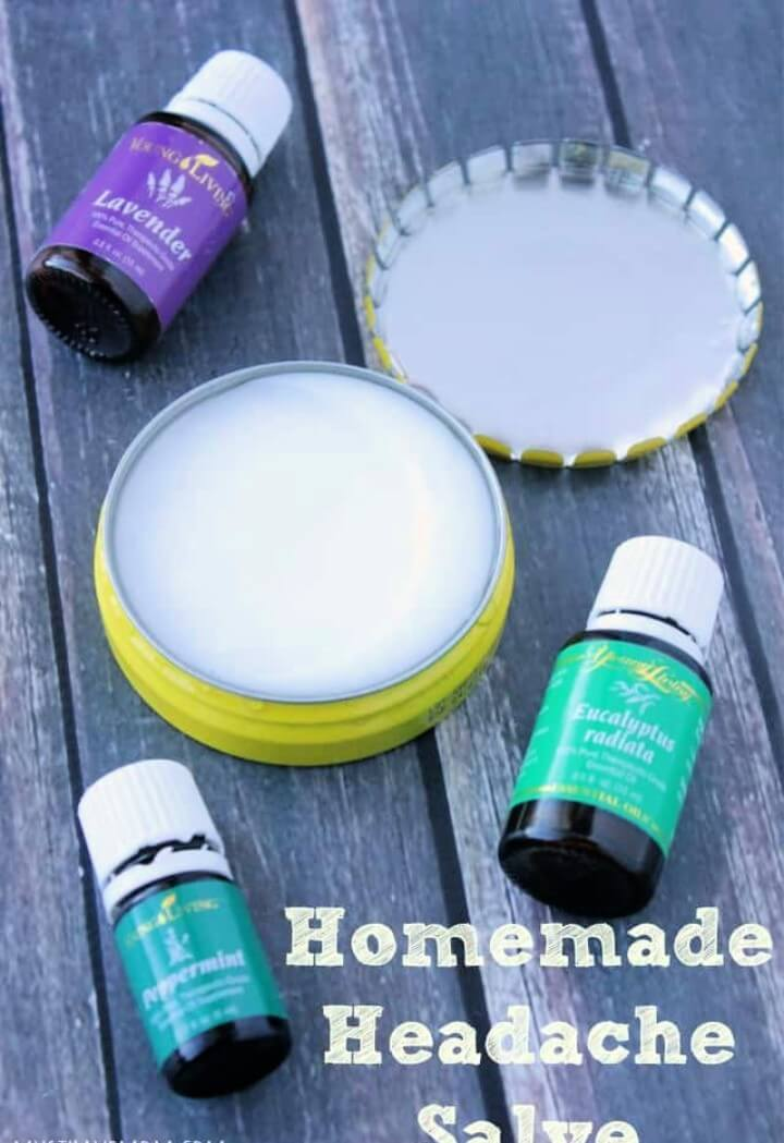 Homemade Headache Salve Recipe