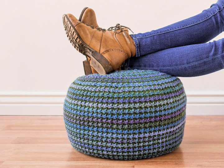 Piper Pouf – Crochet Pattern