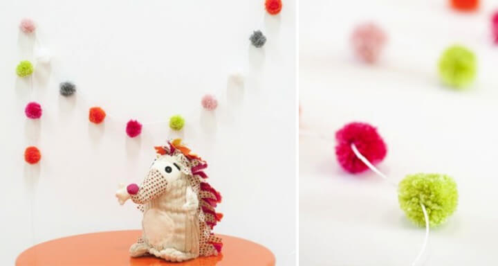 Pom Pom Garlands DIY