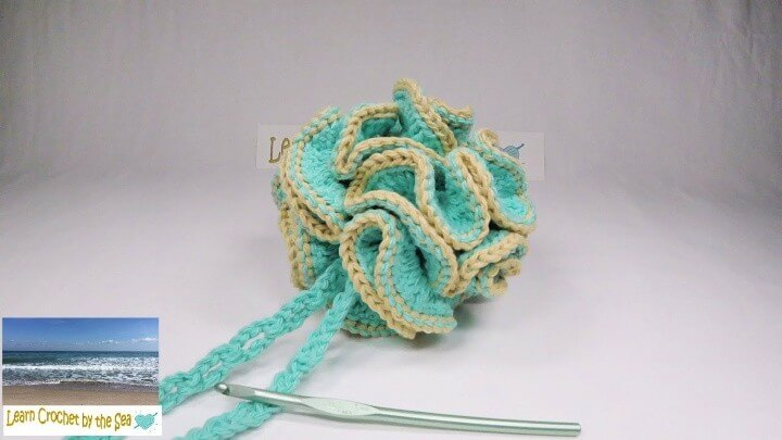 Skein Bath Loofah Pouf Shower Scrubby