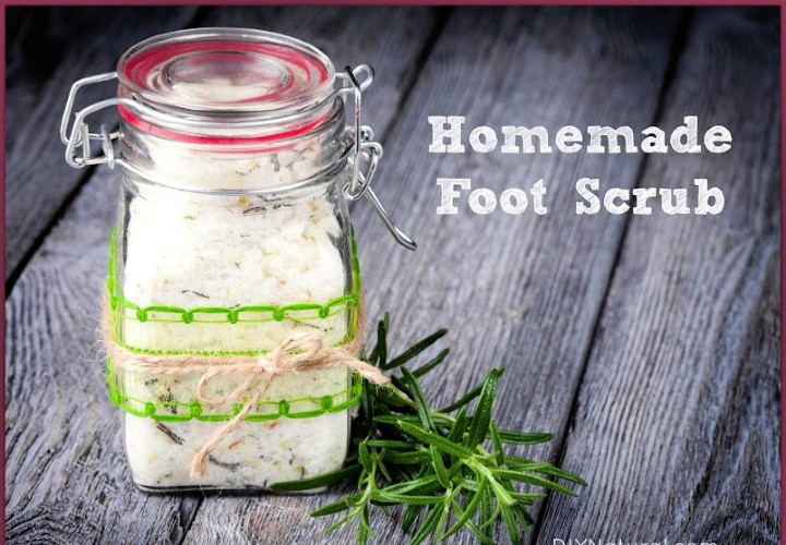 Homemade Foot Scrub Recipe for Soft Summer Feet